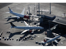 Non-schengen på Oslo Lufthavn