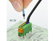 Phoenix Contact utvider sitt sortiment med praktiske kretskortpluggforbindere med SKEDD-teknologi