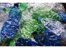 Plasticflasker - komprimerede