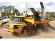 Swecon Baumaschinen auf der Nordbau 2016