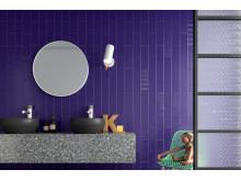 Badrumstrender 2020; SOHO, väggplatta blank/matt, CC Höganäs