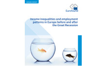 Front Cover: Income inequalities and employment patterns in Europe