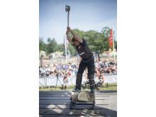 Matthias Ringsholt i disciplinen Standing Block Chop