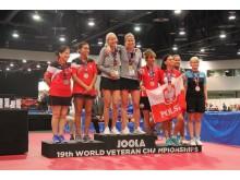 Petra Sörling och Pia Toelhöj vinner guld i DD45