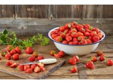 Fristende norske jordbær - nå er de her.