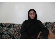Hala*, 13 år i Jemen