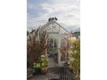 Växthus på Rosendals trädgård