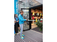 Salming Concept Store - Magnus Wislander