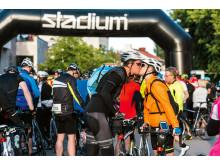Vätternrundan och Stadium förlänger samarbetet. Foto Petter Blomberg/Vätternrundan