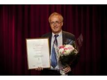 Professor Jan Frisell, Karolinska Institutet, mottagare av BROs utmärkelse 2011