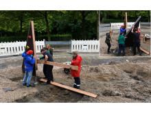 Spielplatzprojekt - Bauphase 2