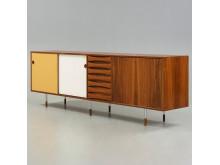 ARNE VODDER, sideboard av palisander, modell 29A, Sibast Møbler, Danmark 1950-60-tal.