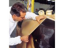 Norton afdækningstape til auto- og pladeværksteder - Anvendelse