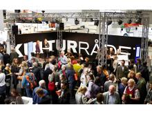 Kulturrådets monter på Bok & bibliotek 2012