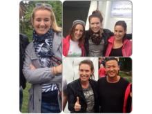 #TeamStockholm fick finbesök av #TeamMalmö
