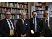Mohamad Godeh, Kung Carl XVI Gustaf, Hamdija Jusufagic