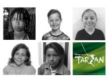 De fem TARZAN-børn
