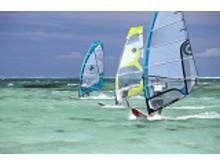 Windsurfer Mauritius