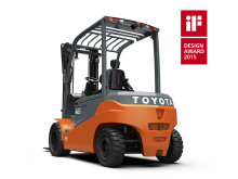 Toyotas motvikstruck Traigo 80 tilldelas iF Design Award 2015