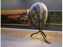 Barockt III – Rock i barocken. Tage Andersens skapelse i dialog med målningar av Bruno Andreas Liljefors på Statens museum for Kunst i Köpenhamn, år  2002.