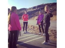 Ellen Lorentsson & Mikaela Andersson är team coacher för #TeamGöteborg i Vår Ruset 13 maj