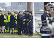The City of Stockholm's Official ceremony on the occasion of the Minute of Silence, April 10, 2017