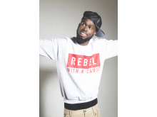 HARD HITTING: Ghetts - one of the UK's most highly acclaimed rap/MC artists, synonymous with fast-flowing lyrics, and a unique style of 'syllable rhyming' will be on stage at Rochdale Literature & Ideas Festival on Saturday 25 October.