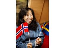 Premiärturen med snabbtåg till Oslo