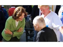 Drottningen besöker Norrtälje sjukhus