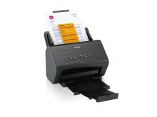 Brother ADS-2400N on pienikokoinen, mutta kestävä skanneri, joka sopii käytettäväksi monenlaiseen toimistoon. Skannerissa on vakiona kiinteä verkkoyhteys, joka mahdollistaa nopean tiedonsiirron.