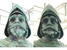 Före-Efter restaurering Kopparmärra