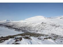 Fra Trolldalen mot Reiersdalen i Troms