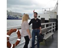 """""""Flirt Ahoi"""" am Anleger der Fördefährlinie F1"""