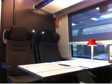 MTR Express interiör