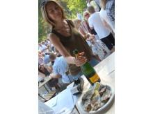 Skärgårdsfestivalen, ostron & champagne