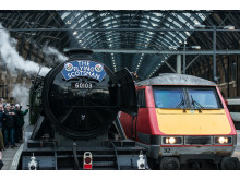 Old meets new as Virgin Trains joins Flying Scotsman's return to East Coast Main Line