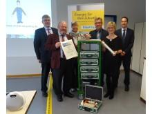 Nachhaltiger Umgang wird belohnt. Lernzirkelwagen für die Ausbildung des Bayernwerk in Bayreuth.