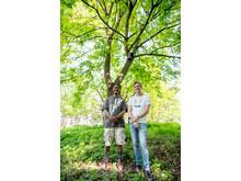 Karoli og Mathias har flere fuglekasseideer og -planer fremover