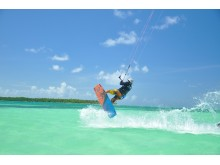 Kitesurfing - Pigeon Point, Tobago