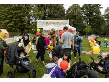 Skoringens Kid's Boot Camp ved A Walk in the Park eventet