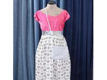 Sy kjol av gardintyg