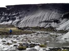 Tinande permafrost i Kanda. Foto: Gustaf Hugelius.