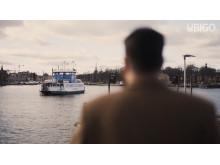 Bild från video –färja