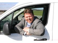 Johnny Løvli - ny salgssjef for nyttekjøretøy hos Ford Motor Norge