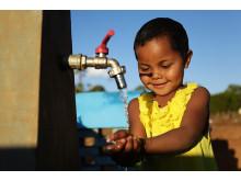 Potsy som bor i en liten by på Madagaskar är en av alla de människor som nyligen fått rent vatten med hjälp av WaterAid