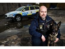 Årets polishund 2016 med förare