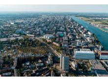 BASF:s integrerade produktionsanläggning i Ludwigshafen, Tyskland