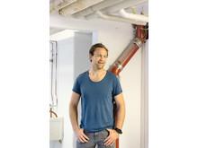 Prosjektleder Thomas Bergøy Johansen i Sinsensalaten