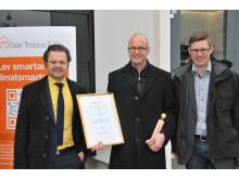 Solenergipriset 2011 - Årets prestation