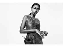 Företaget Guringo bidrar med en 3D-printad klänning